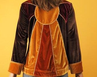 Velvet Sunrise Panelled Jacket 68fc5696990