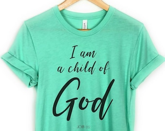 3344423f Child of god tee | Etsy