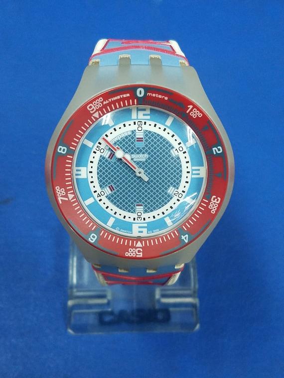 Very Rare Swatch snowpass altimeter watch