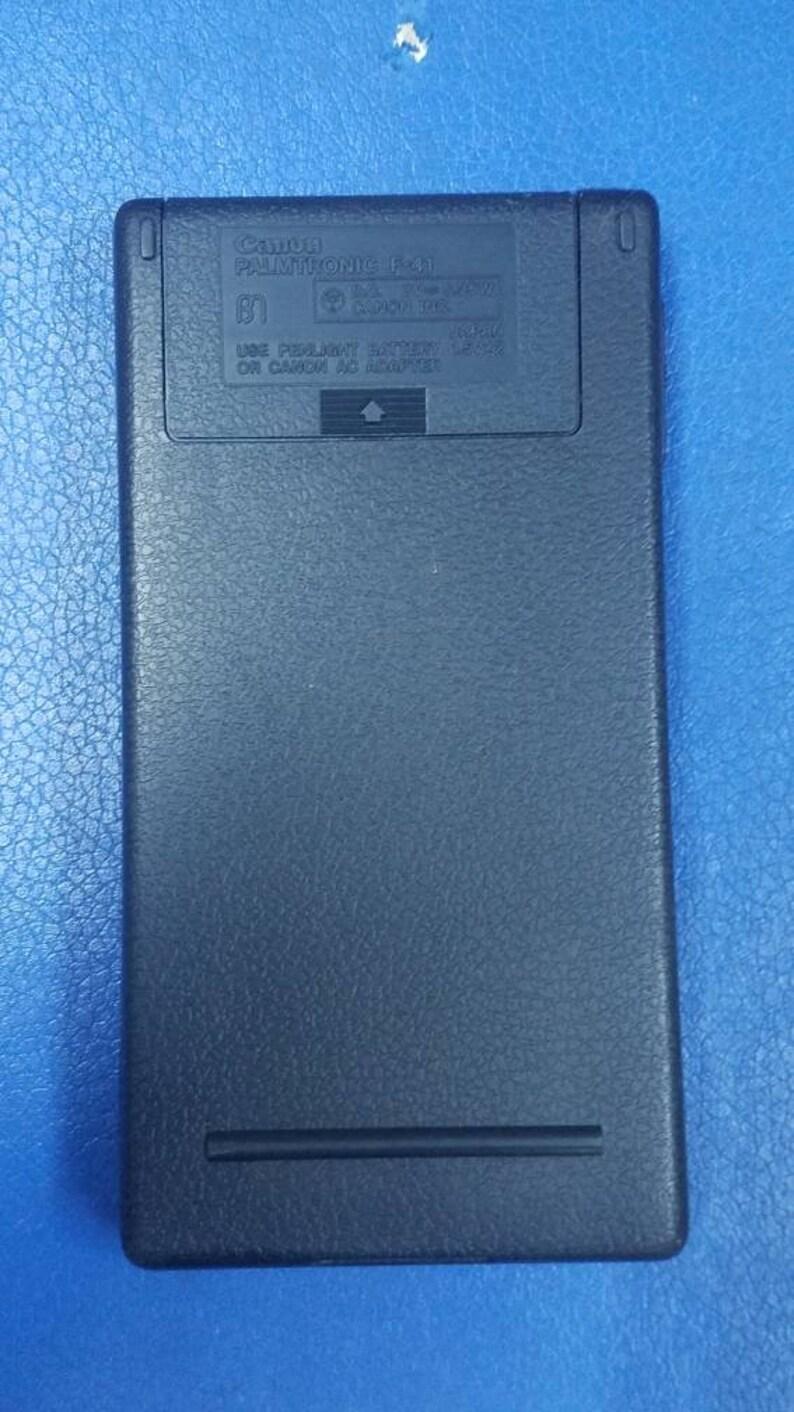Vintage Canon Palmtronic F-41 Scientific Calculator Rare *** Great ***