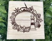 Lighthouse Engraved Wooden Chest - Beautiful Crystal Chest - Personalized Trinket Box - Keepsakes - Gift Box - Limited  Adorable Treasure