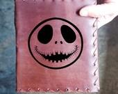 Jack Custom Journal - Beautiful Leather Diary Journal Custom Designed Renaissance Book Vintage Notepad  Dream Journal - Unlined Engrave