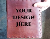 Create a Custom Journal - Beautiful Leather Diary Journal Custom Designed Renaissance Book Vintage Notepad  Dream Journal - Unlined Engrave