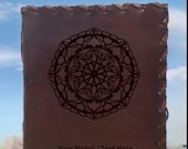 Mandala Renaissance Journal - Beautiful Leather Journal - Custom Book - Vintage Notepad - Lore Journal - Custom Leather Gift Limited Edition