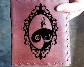 Nightmare Before Christmas Custom Journal - Beautiful Leather Diary Journal Custom Designed Renaissance Book Vintage Notepad  Dream Journal
