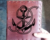 Anchor Journal - Ship Journal Diary Treasure Book - Vintage Maritime Notepad - Thought Journal  -Notebook Gift - Limited Edition - Dream