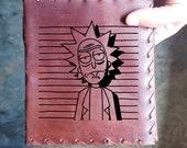Rick n Morty Custom Journal - Beautiful Leather Diary Journal Custom Designed Renaissance Book Vintage Notepad  Dream Journal - Unlined