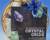 Healing Crystals Gift Set - Unique Gift - Bulk Crystals - Charging Pad - How To Crystal Book - All About Healing Crystals Complete Gift Set