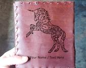 Unicorn Mandala Renaissance Journal - Beautiful Unicorn Journal Fairy Tale Book - Vintage Unicorn Diary Notepad - Unicorn Lore Journal