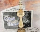 Ghost Repellent - Haunted - Monster Repellent - Sage - Silver Necklace - Golden Vial - Salt - Monster Hunting - Ghost Hunting Must Have
