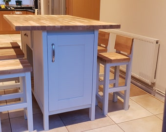 Gully dining kitchen island (The Stamford) island only