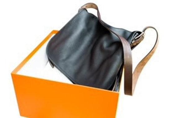 Unused Vintage Hermes Barda Messenger bag