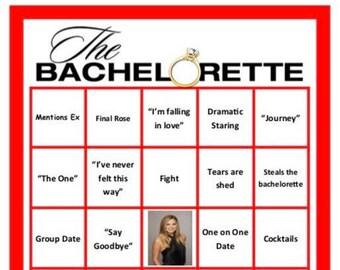 Bachelorette Bingo Etsy