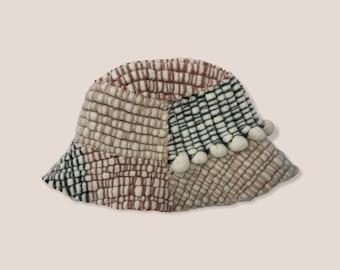 Made To Order Hand Woven Bucket Hat