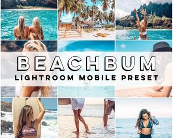 6a2dcdce65b5b Mobile Lightroom Preset • Beachbum Mobile Preset • Influencer Preset for  Photo Editing • Adobe Lightroom Mobile • Blogger Preset