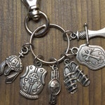 Armor of God Zipper Pull, Christian Jewelry, Bible Verse, Scripture