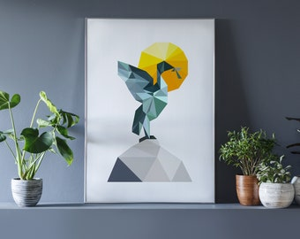 Liver Bird Print