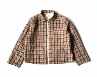 7c7ed41ed973 Vintage Nova Check Reversible Quilted Jacket Unknown Brand Looks Like  Burberrys Nova Check