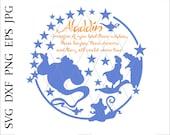 Three wishes,Jasmine svg,Aladdin svg,flying carpet,Abu,Genie svg,Disney,Disney world svg,disneyland svg,Digital Download, jpg dxf eps png