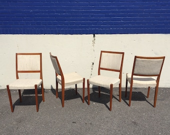 Groovy Swedish Teak Chairs Etsy Machost Co Dining Chair Design Ideas Machostcouk