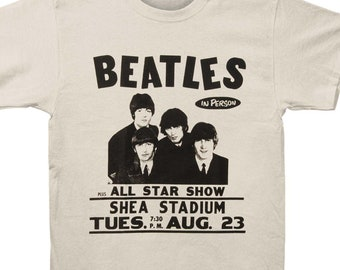 Beatles Ticket Stack Juniors White T Shirt New Official