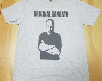 57bc121c9cf2 Tony Soprano Original Gangsta Soft Slim Fit T-SHIRT