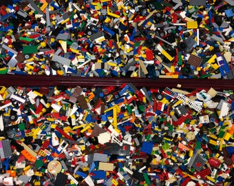 building mix lot Tiles 1 Lb Plate Various  Pieces: Cone Brick Bulk LEGO