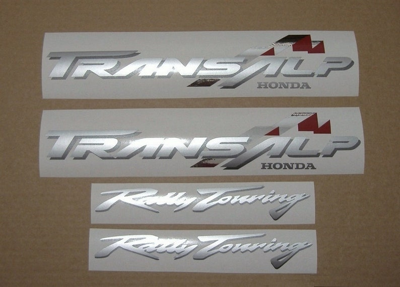 Honda Xl650v 2001 2002 Transalp Full Aftermarket Decals Stickers Graphics Set Kit Reproduction Replica Restoration Adhesives Aufkleber