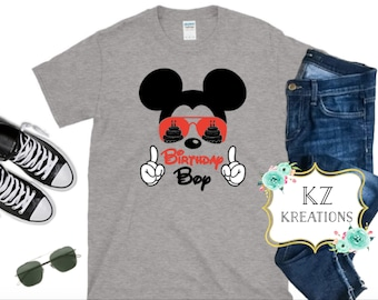 Mickey Birthday Boy Disney Shirt