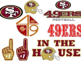 San Francisco 49ers svg NFL svg Football Logo Svg Files Cut files Vector  Cut File Football SVG CriCut Silhouette Cameo Instant download fa22a8ac0