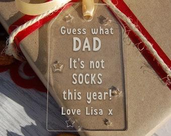 Personalised Gift Tags - Christmas Gift Tag - Custom Tag - Funny Gift Tag - Personalised Gift Wrap - Honest Gift Tag