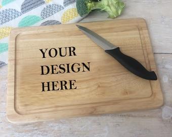 Bespoke Design Chopping Board - Unique gift - Wooden Board - Home Gift - Kitchen Chopping Board