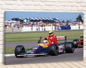 A4-A3-A2-A1-A0 Sized Sets of 2 Ayrton Senna F1 Poster Set