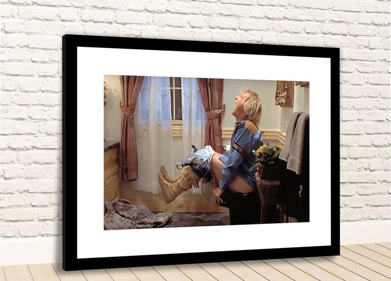 Dumb And Dumber Harry Toilet Scene Jeff Daniels Framed Photo Etsy
