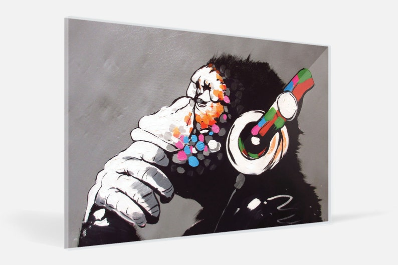 BANKSY GIRL WITH BALLOON GLOSSY WALL ART POSTER PRINT A1 - A5 SIZES AVAILABLE