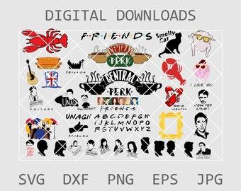 Friends tv show logo | Etsy