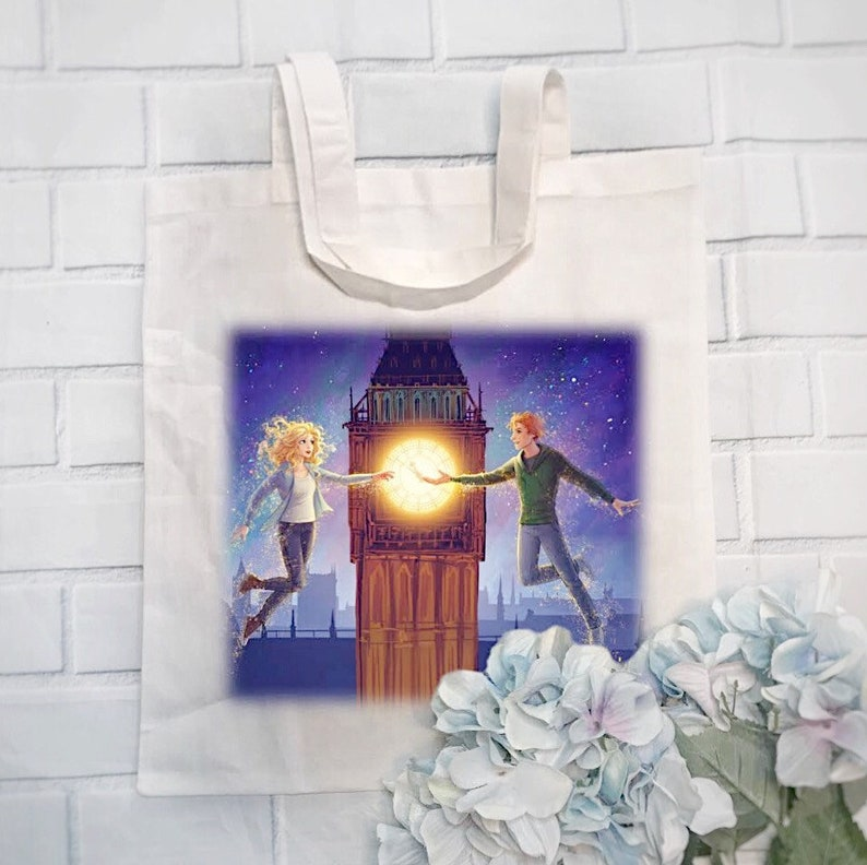 Peter Pan  Claire Tote Bag  Dust by Kara Swanson  Exclusive image 0