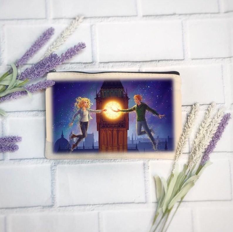 Peter Pan  Claire Zipper Pencil Pouch  Dust by Kara Swanson image 0