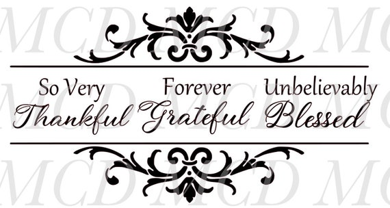 So Very Thankful Svg Cutting Files For Signs Svg Files Sign Etsy