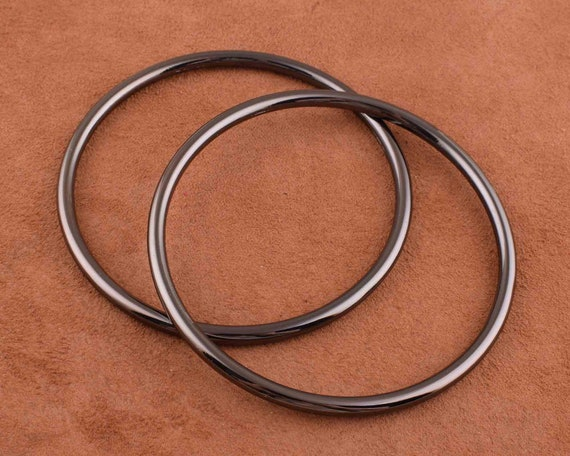 OWNER ROUND WELDED RINGS SIZE 6 10PCS