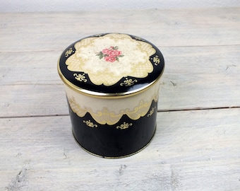 nostalgic tin can Max heart coffee Hamburg, vintage lid can, decoration for the kitchen