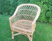 NATURAL adult wicker chair rattan furniture