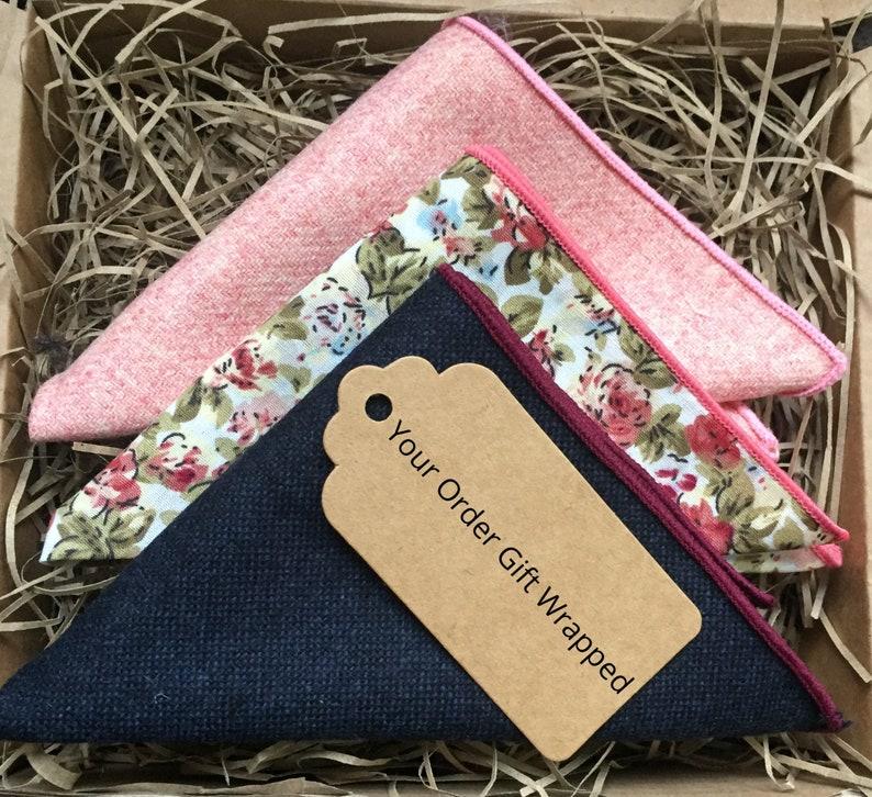 Groomsmen Gifts Floral Ties Wedding Ties Floral Pocket Square The Blue Rose: Blue Floral Necktie Mens GIfts