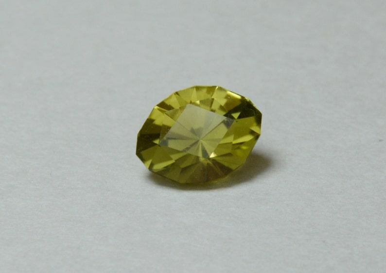 Oval Cut 0.9ct Green Yellow Chrome Tourmaline