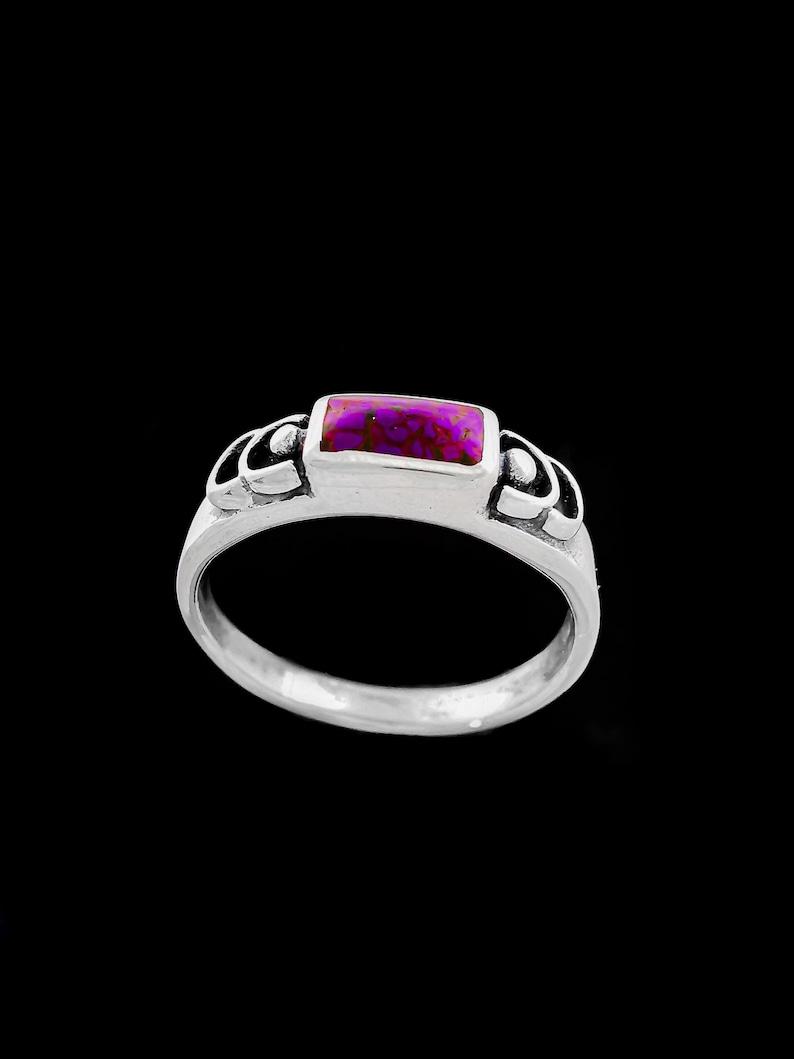 Custom Stone Ring Single Stone Customizable Band 925 Sterling Silver Customizable Engagement Ring Gemstone Ring