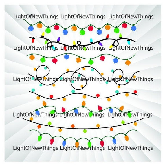 Free Christmas Lights Svg.Buy 3 Get 1 Free Christmas Lights Svg Electric Lights Svg Bulb Svg Christmas Clipart String Lights Svg Lights Svg Christmas Cut