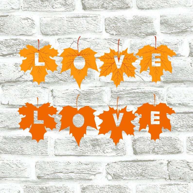 Buy 3 Get 1 Free Love Svgleaves Svg Nature Svg Etsy