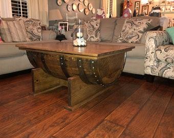 Custom Coffee Table With Storage
