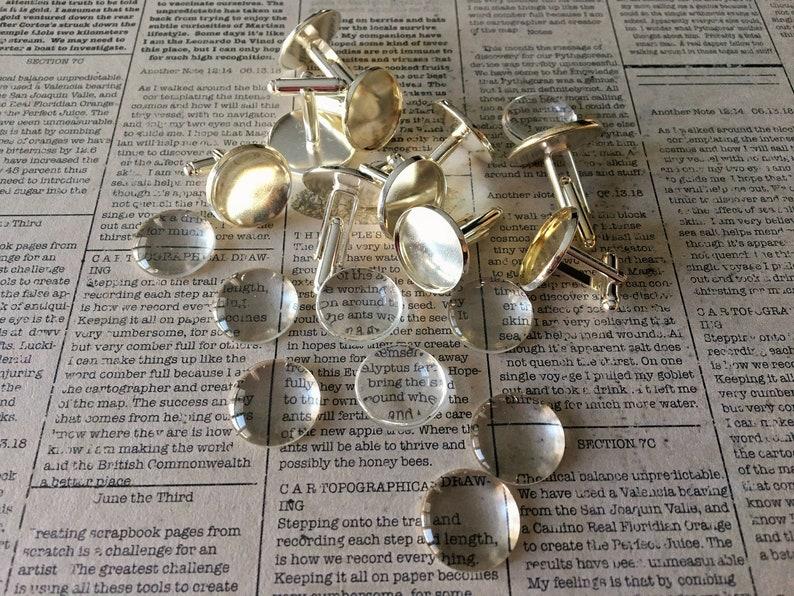 Dapper DIY Cufflinks | DIY Anniversary Gifts For Him