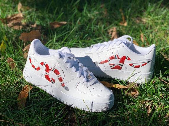 Snake Custom Nike Air Force 1 | Etsy
